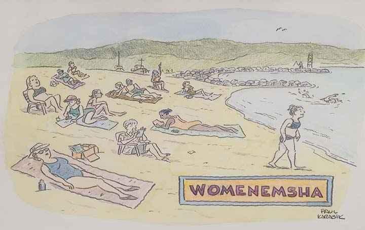 Womenemsha by  Paul Karasik - Masterpiece Online