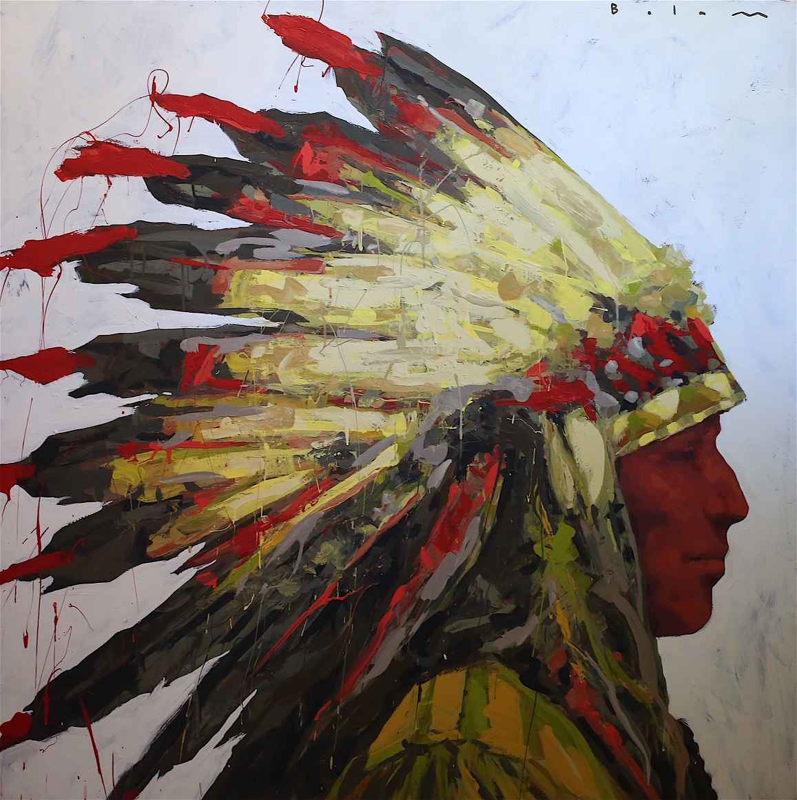 WAR BONNET (BOLAM)  by  Andrew Bolam