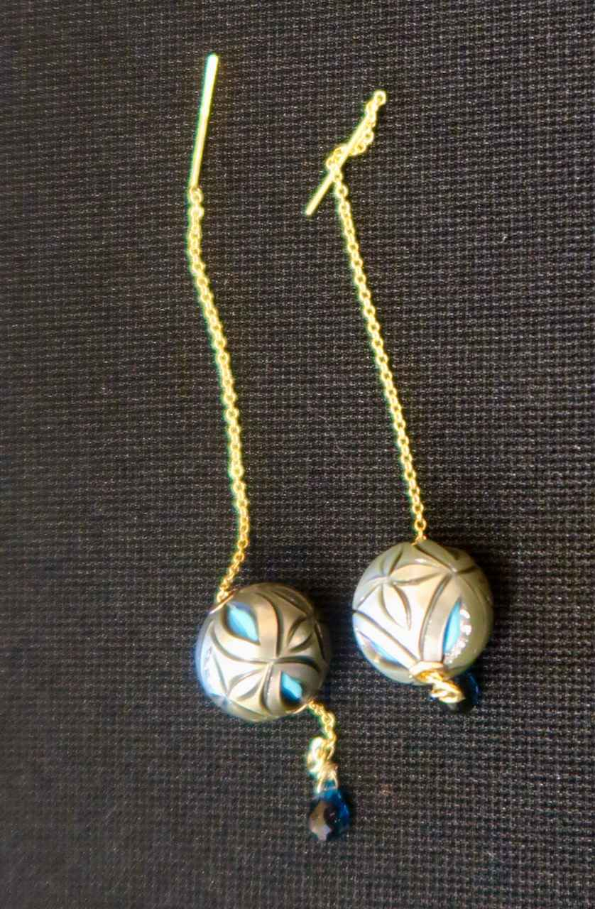 Carved Tahitian Pearl... by Mrs. Rebecca Mach - Masterpiece Online