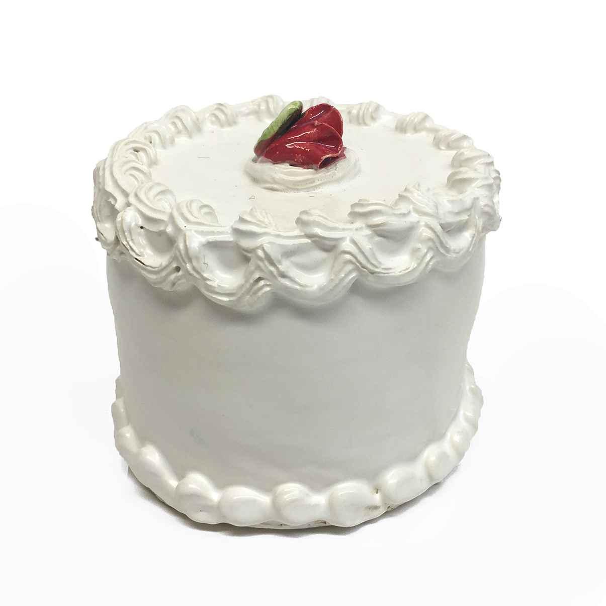 Rosebud Topped Cake  by  Jeff Nebeker