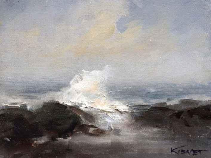 Ocean Spray  by  Fran Kievet