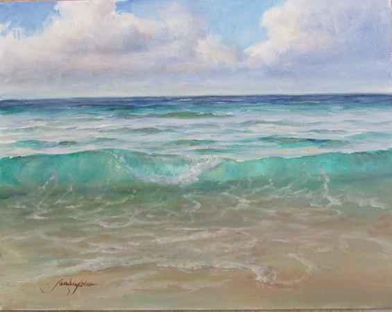 Florida Seascape  by  Sandra Horne
