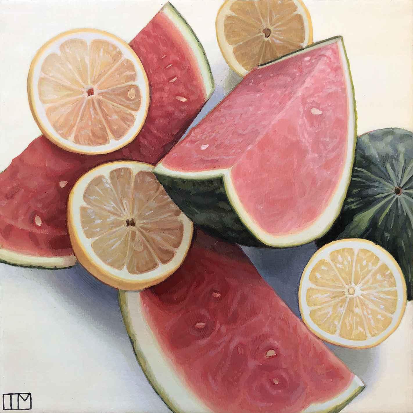 Watermelon Lemonade  by  Teagan McLarnan