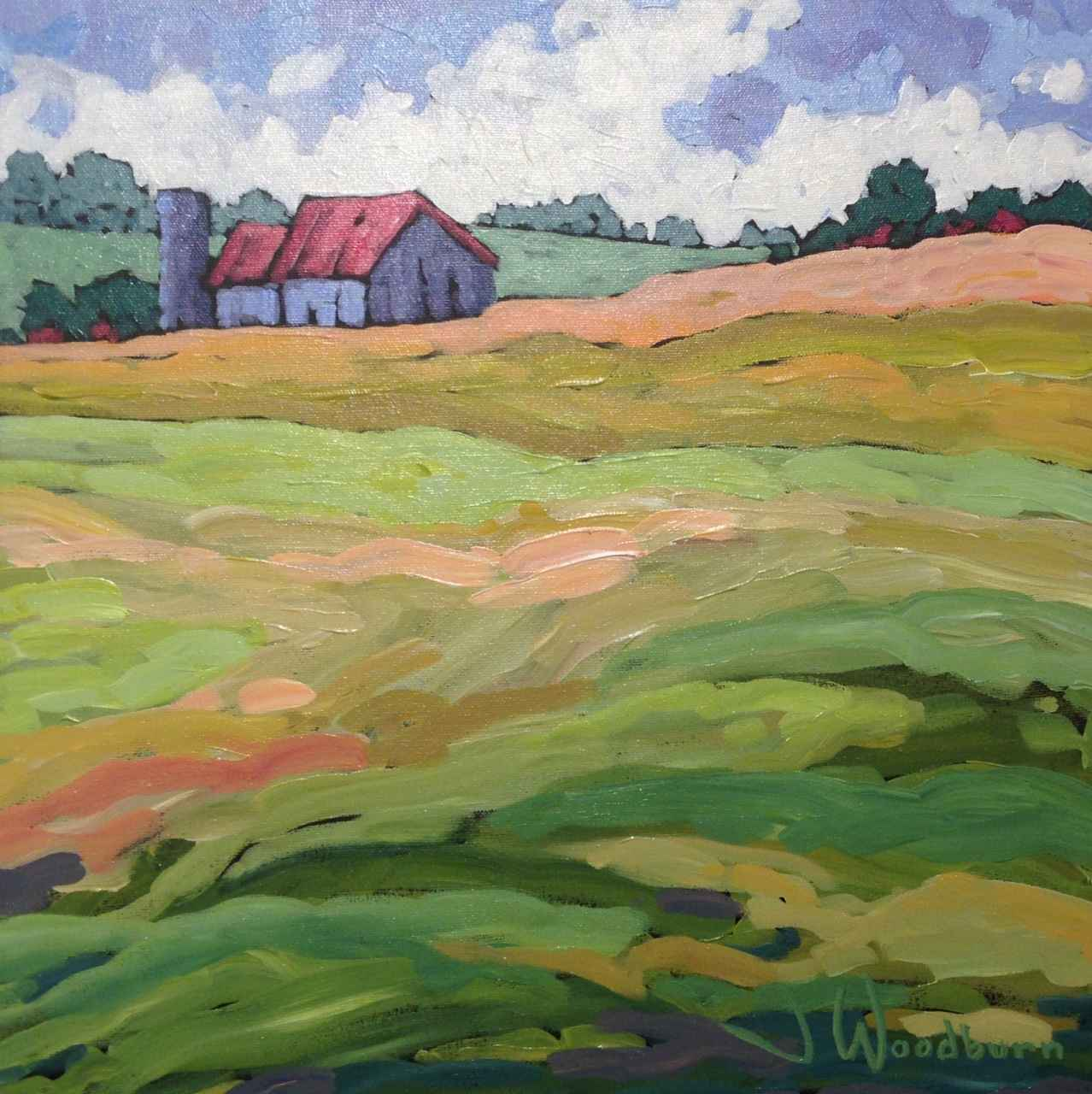 The Back Pasture by Ms Jennifer Woodburn - Masterpiece Online