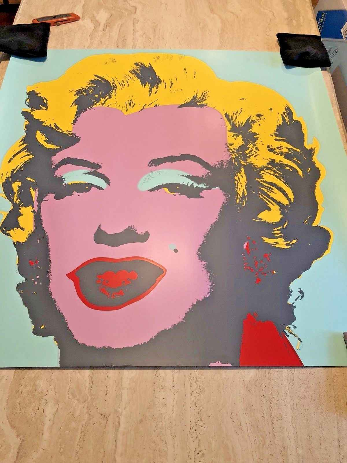 Marilyn Monroe (Green) by  Andy Warhol - Masterpiece Online