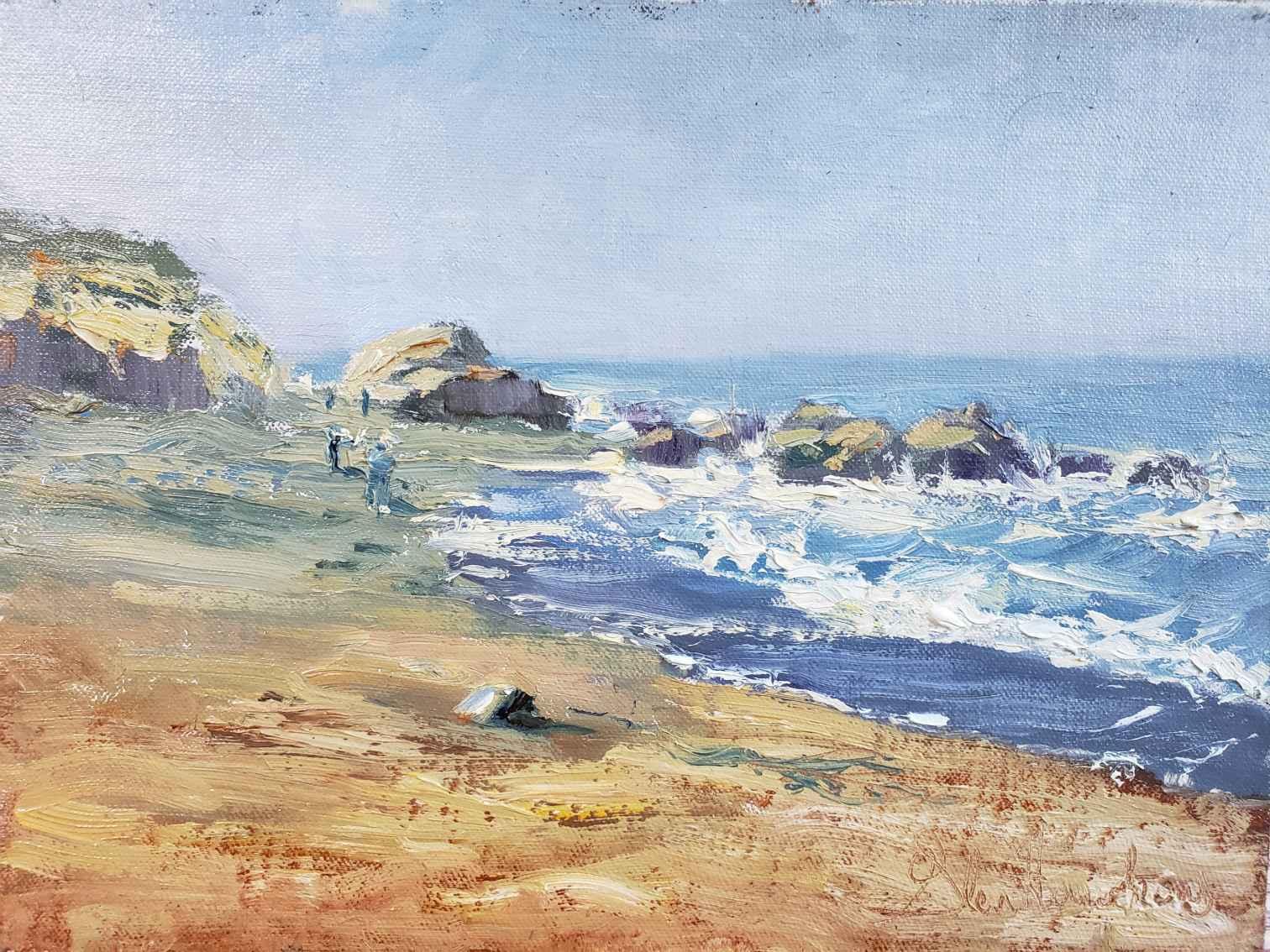 Beach Combers by Mr. Glen Hawkins - Masterpiece Online