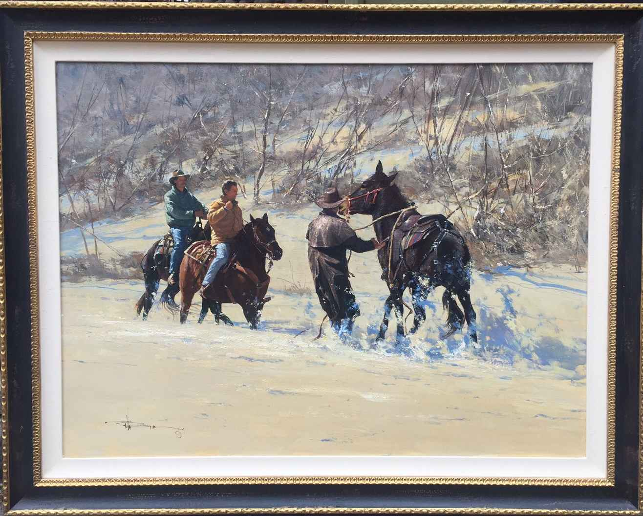 Back Up (RS) by  Robert Hagan - Masterpiece Online