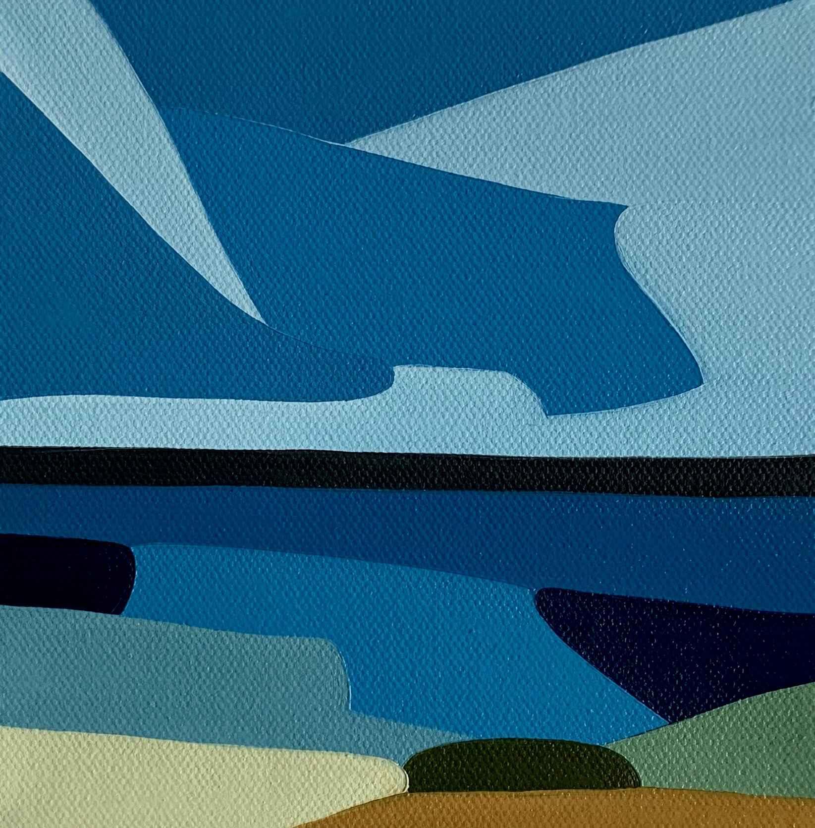 Beneath Blues by  Rachael Cassiani - Masterpiece Online