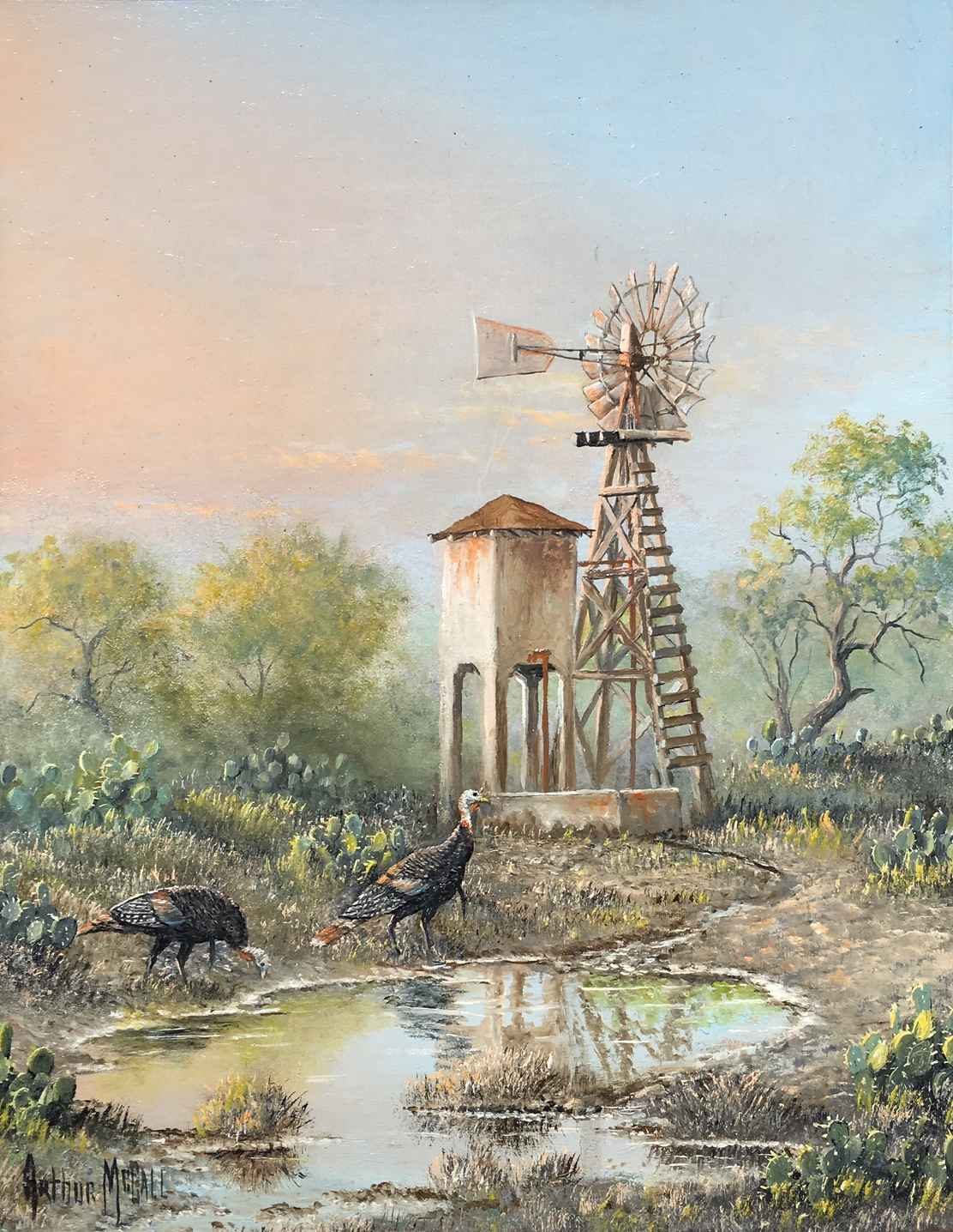 Compadres by  Arthur McCall - Masterpiece Online