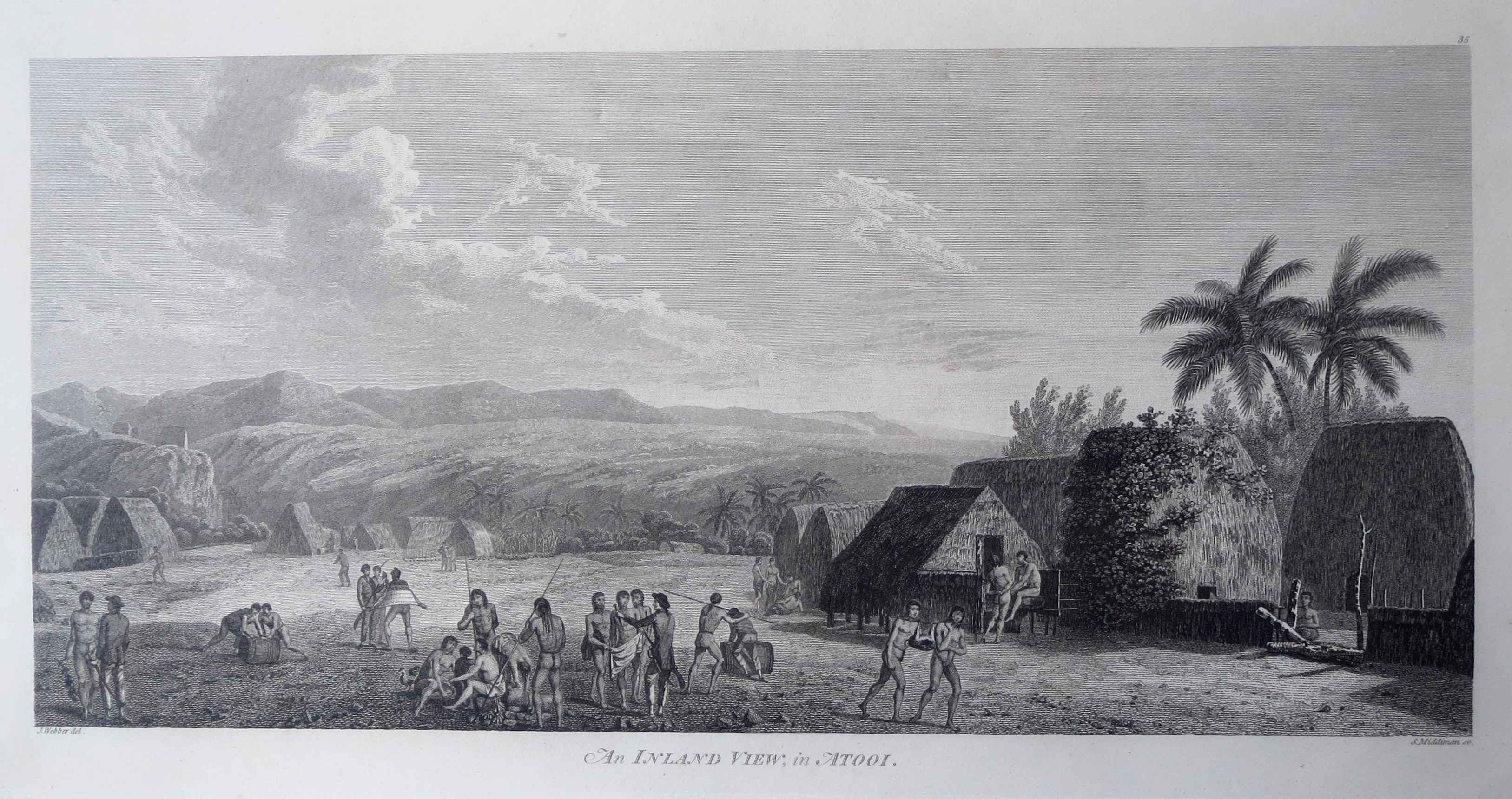 An Inland View in Ato... by  John Webber (1752-1793) - Masterpiece Online