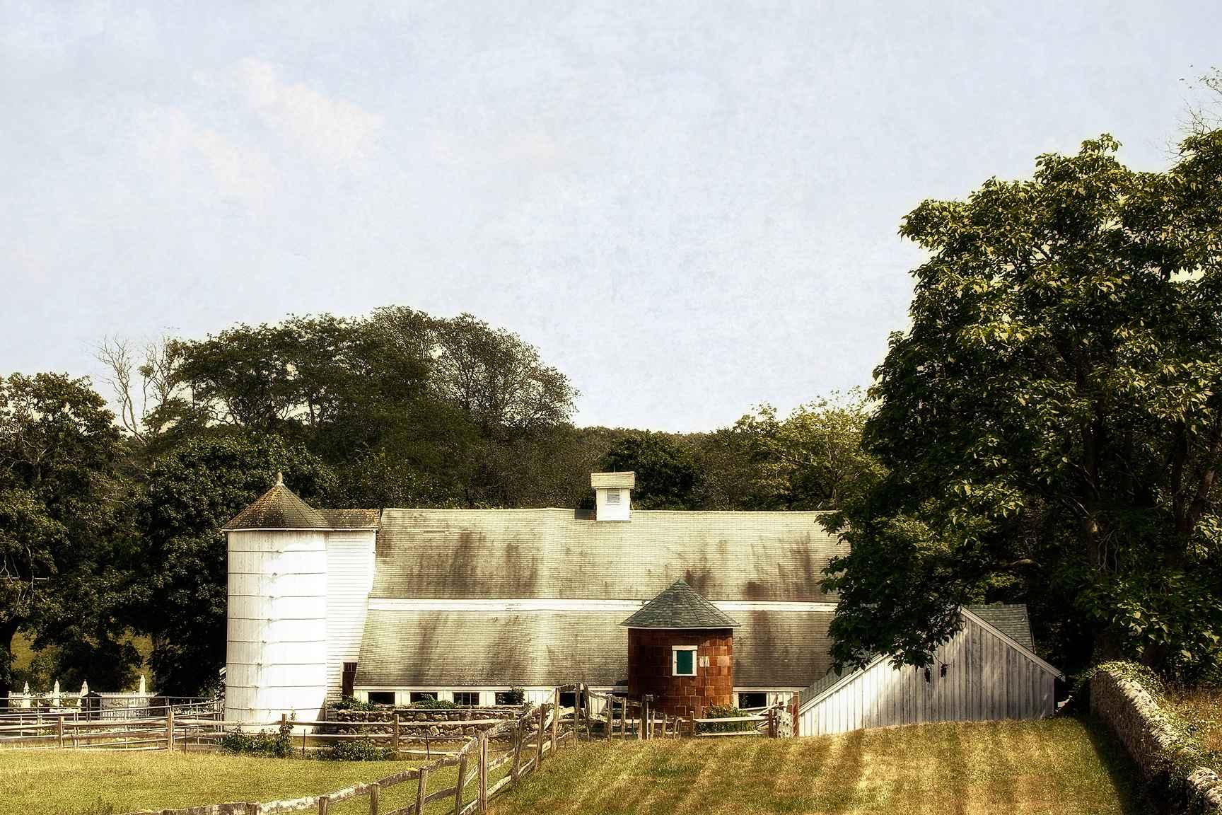 Summer Barn by  Michael Stimola - Masterpiece Online