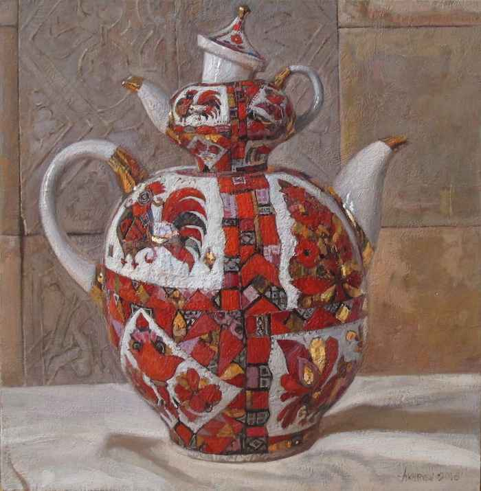 Russian Tea Party, I by  Daud Akhriev - Masterpiece Online