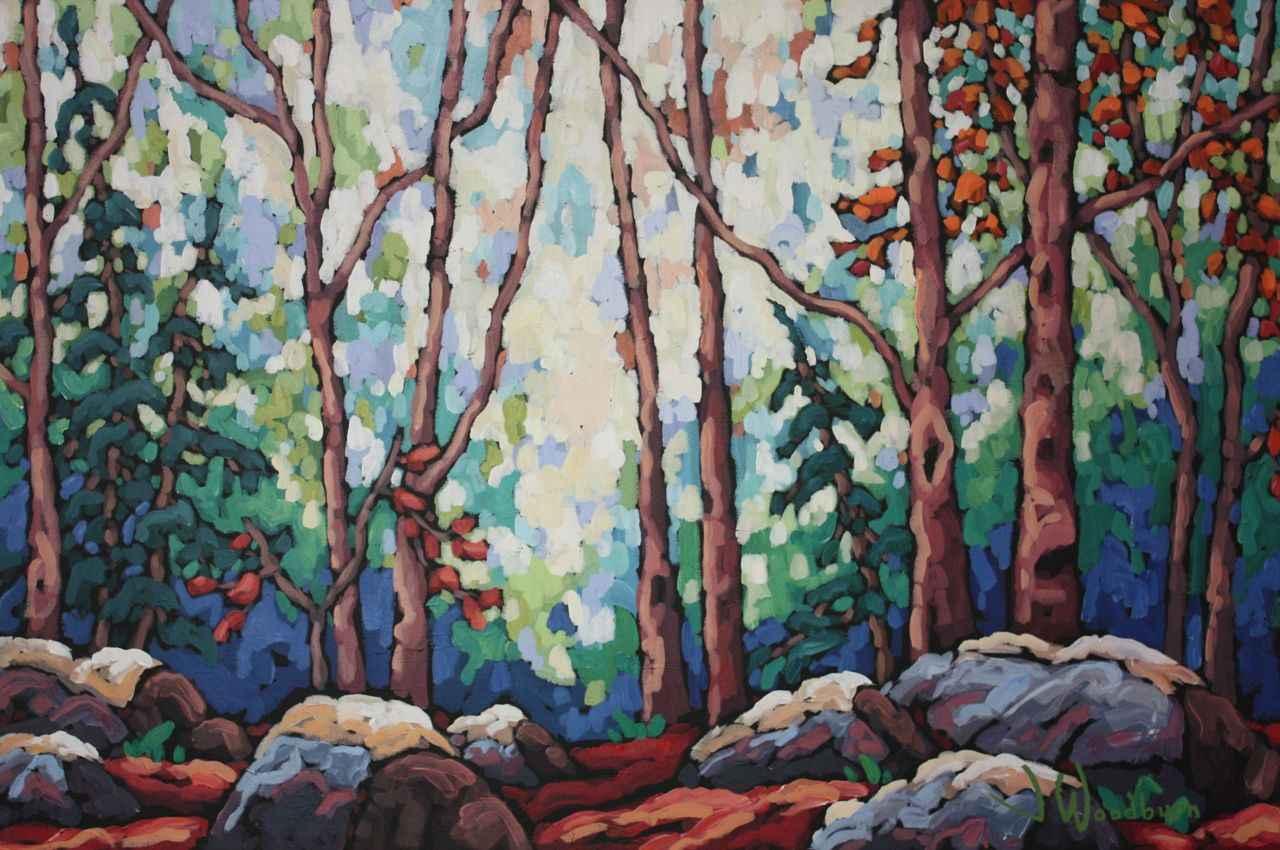 Gathering Among Frien... by Ms Jennifer Woodburn - Masterpiece Online