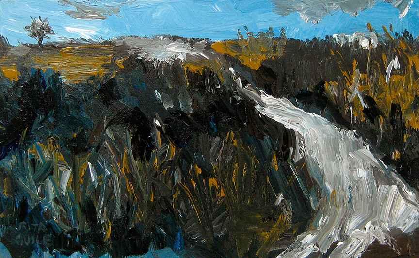 Flint Hills Backroad 1 by  Rita Guile - Masterpiece Online