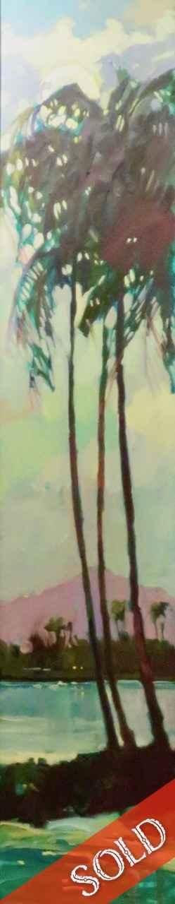 Night Scene by  Darrell Hill (1941-2013) - Masterpiece Online