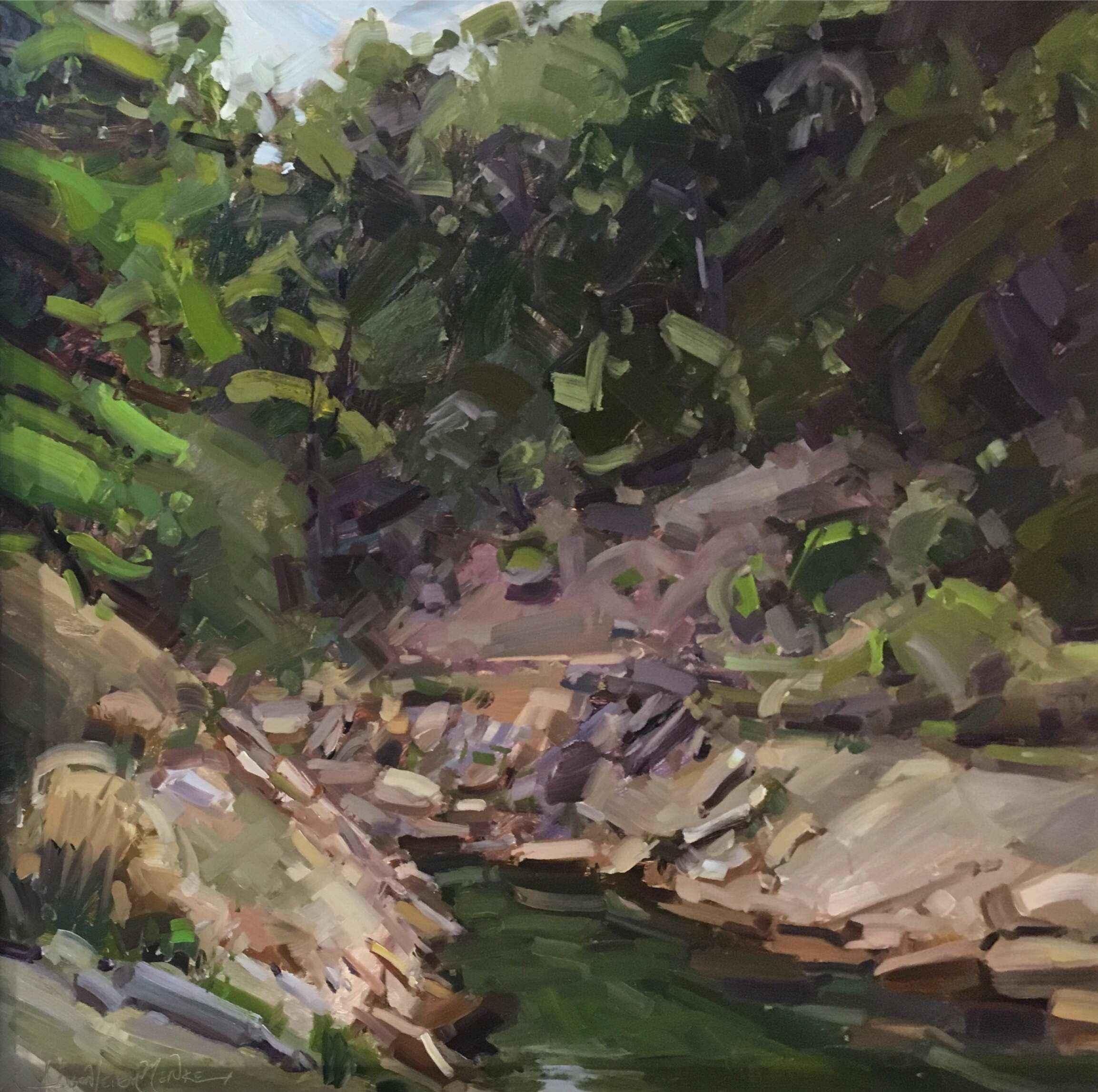 The Rocks Below by  Alison Menke - Masterpiece Online