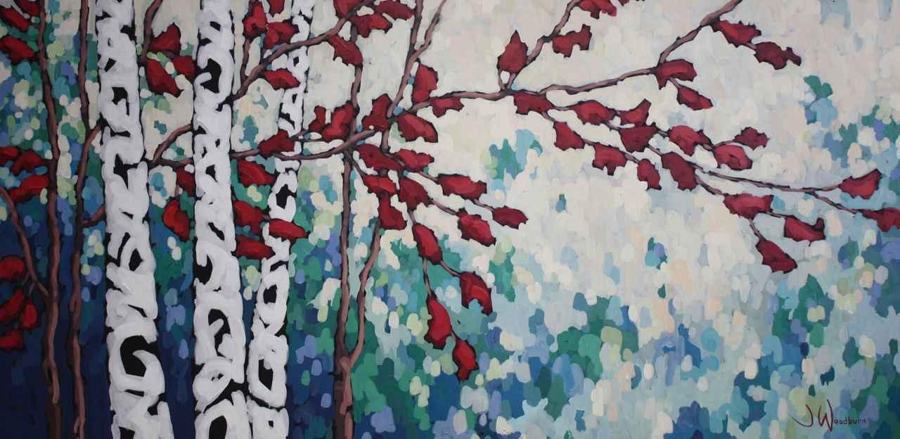 Flight of Red by Ms Jennifer Woodburn - Masterpiece Online
