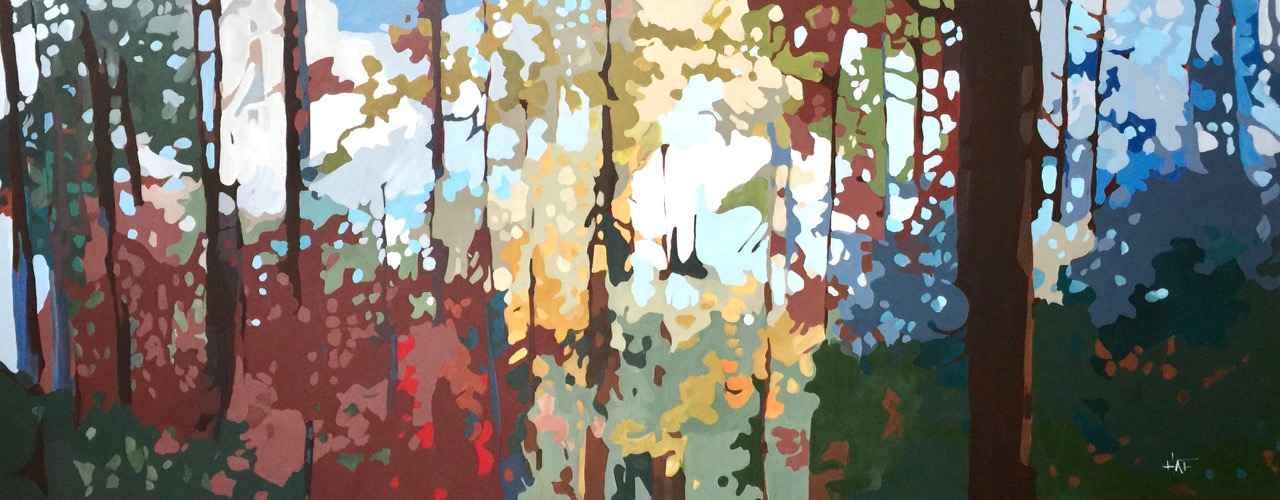 Forest Filter Vl by  Holly Ann Friesen - Masterpiece Online