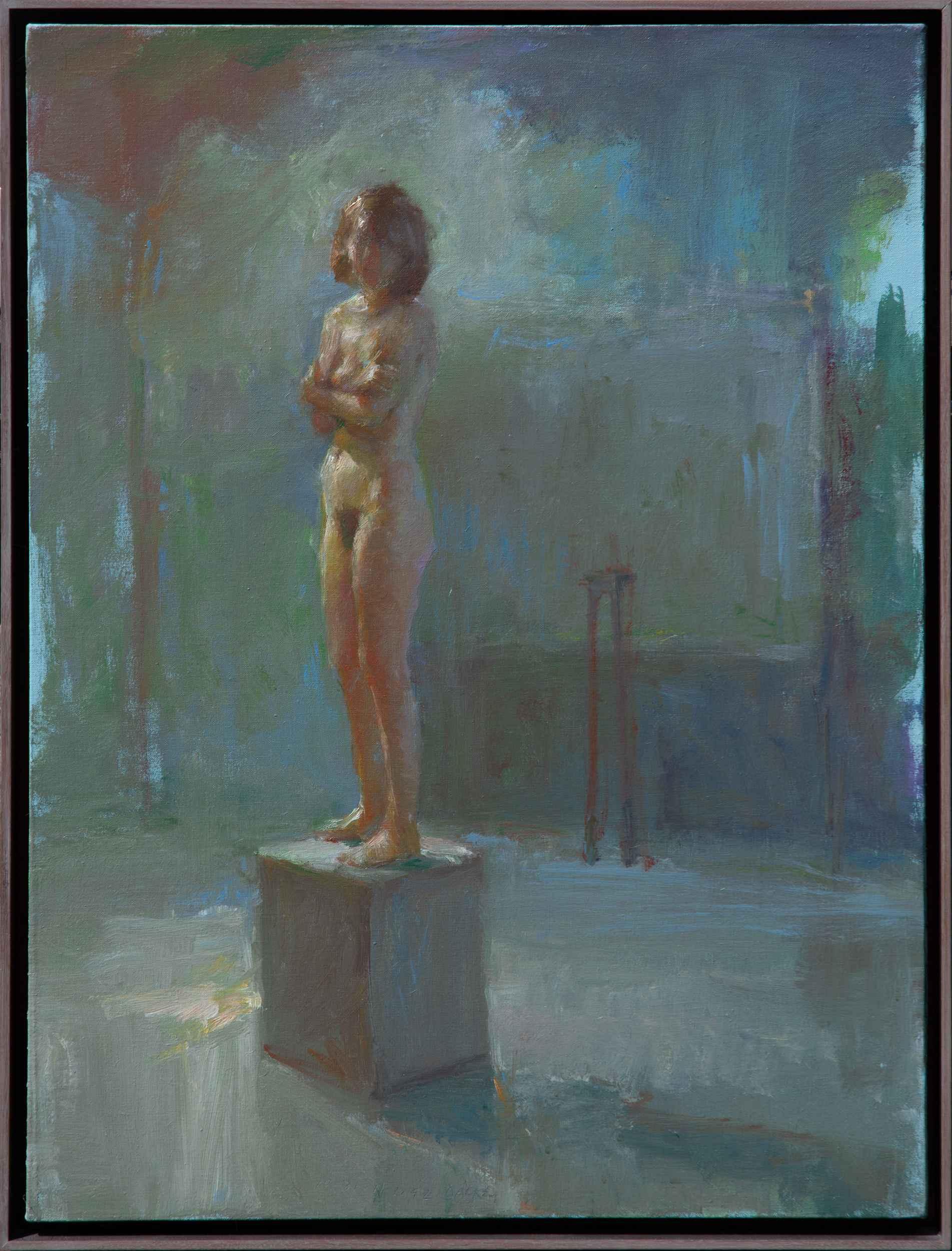 Tabitha On A Pedestal...  by  Fred Dalkey