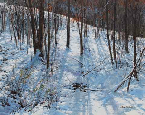 Morning Sun - Snowy H... by  Michael Wheeler - Masterpiece Online