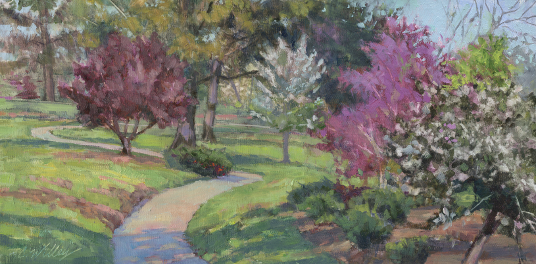 Middle Spring by  Chris Willey - Masterpiece Online