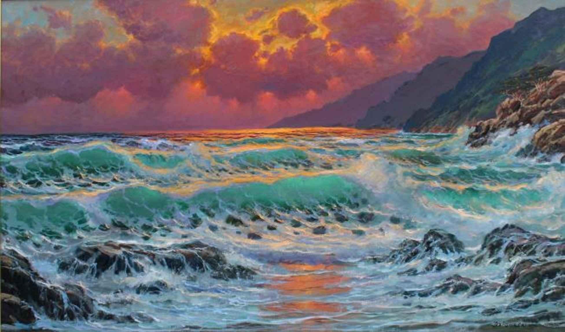 Pacific Symphony, Big... by  A Dzigurski II - Masterpiece Online