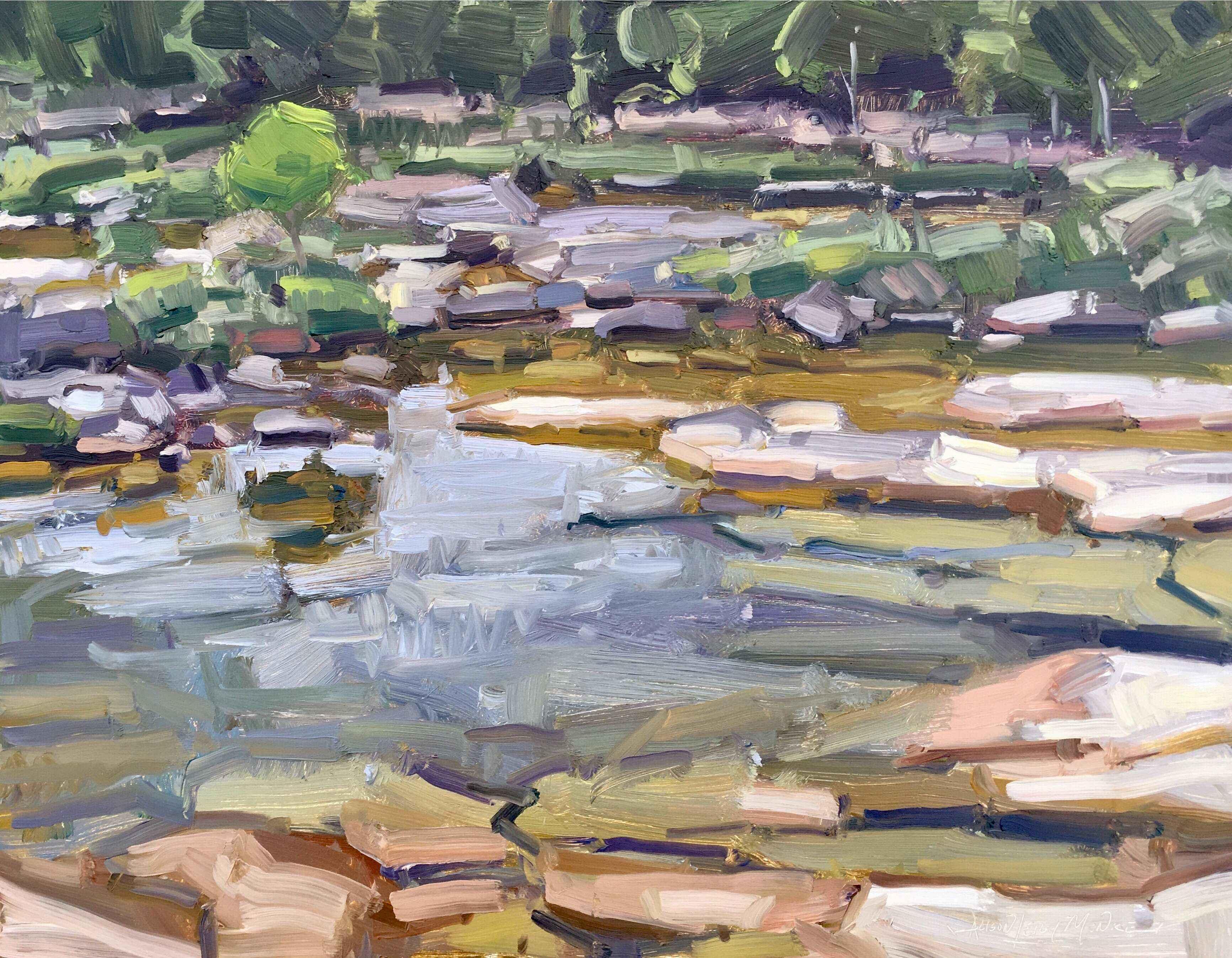 Cottonwood Shores by  Alison Menke - Masterpiece Online