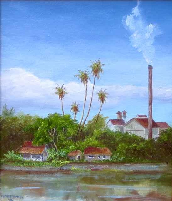 Plantation Days - Aie... by Mrs. Martha Greenwell (1920-2014) - Masterpiece Online