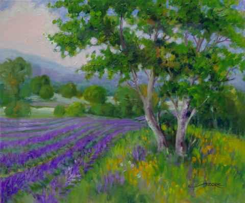 Spring Lavender by  Eva Szorc - Masterpiece Online