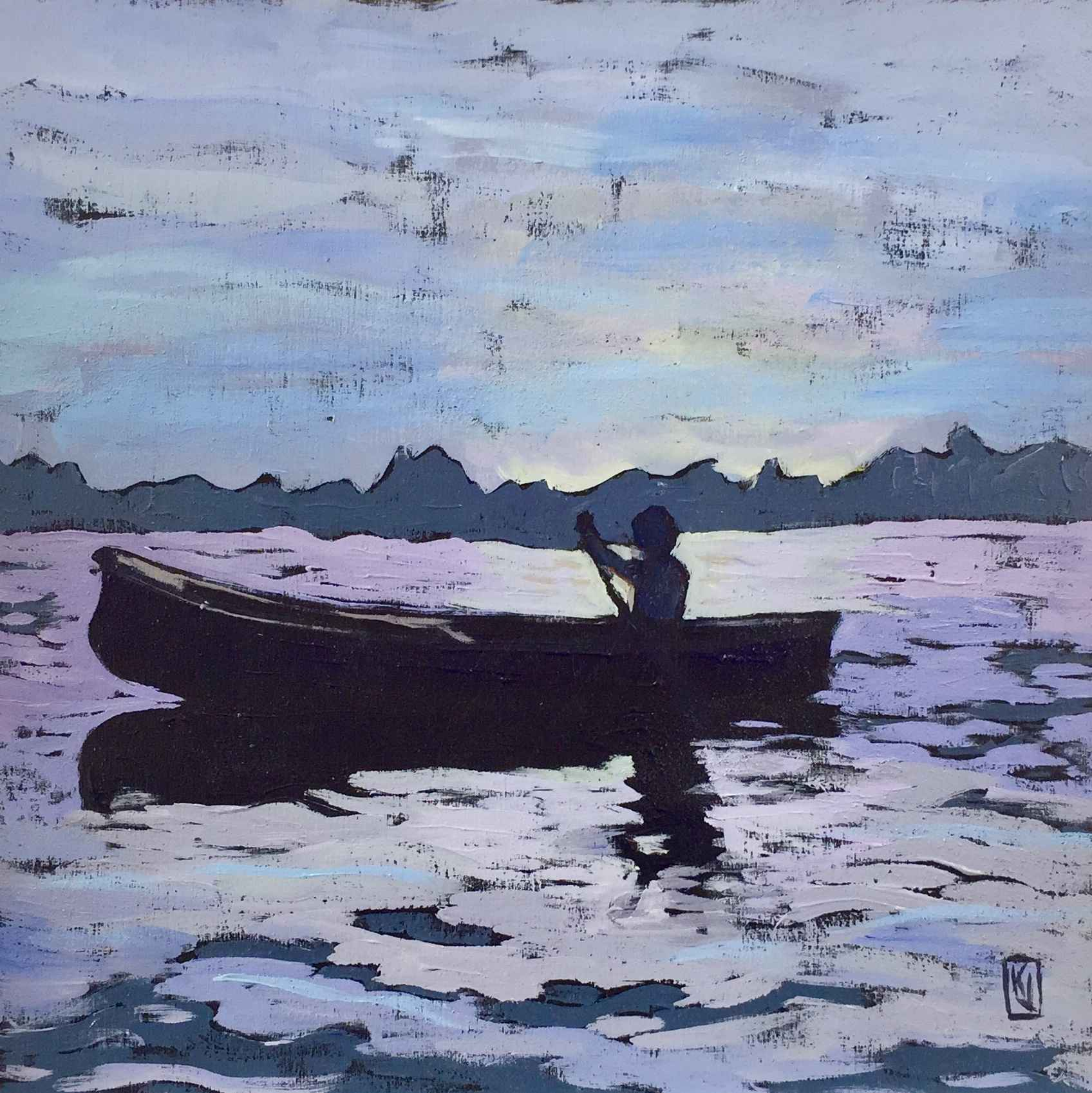 Sundown Paddle by  Kaz Jones - Masterpiece Online