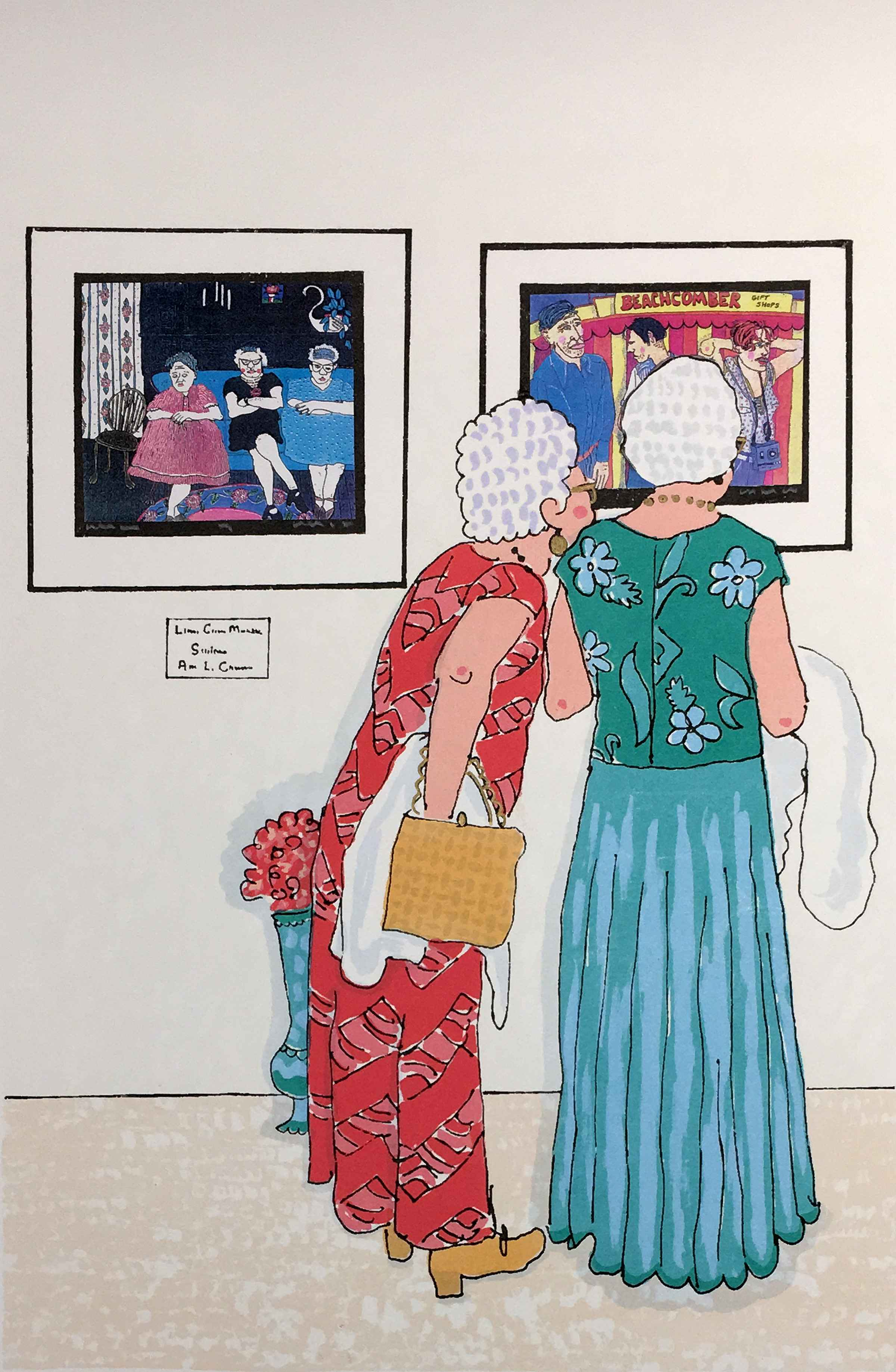 Jeanette & Dorothy Go... by  Ann L. Carter - Masterpiece Online