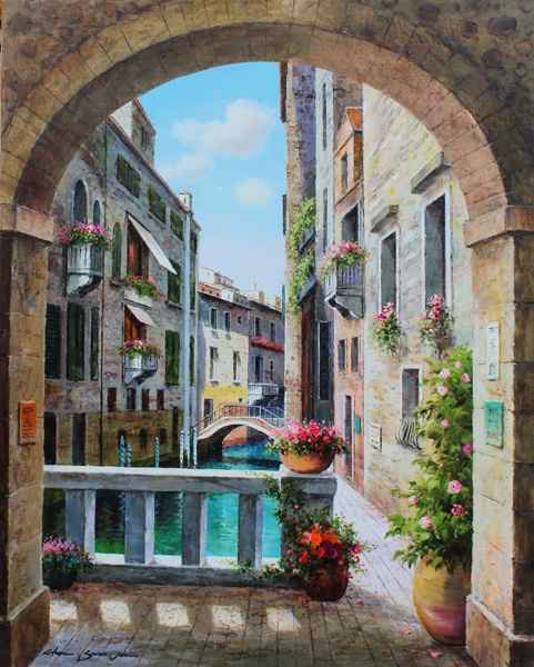 Venice View by  Soon Ju Choi  - Masterpiece Online