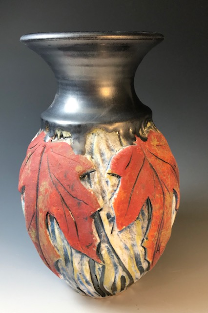 Red Maple Vase