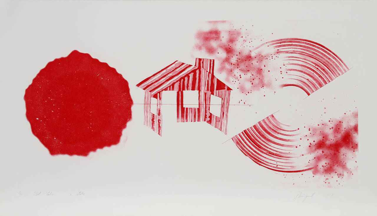 Hot Lake (2nd State) by  James Rosenquist - Masterpiece Online