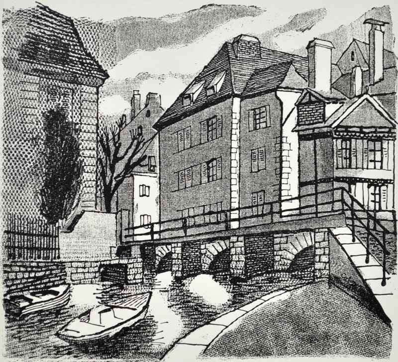 Colmar by  Bernard Brussel-Smith (1914-1989) - Masterpiece Online