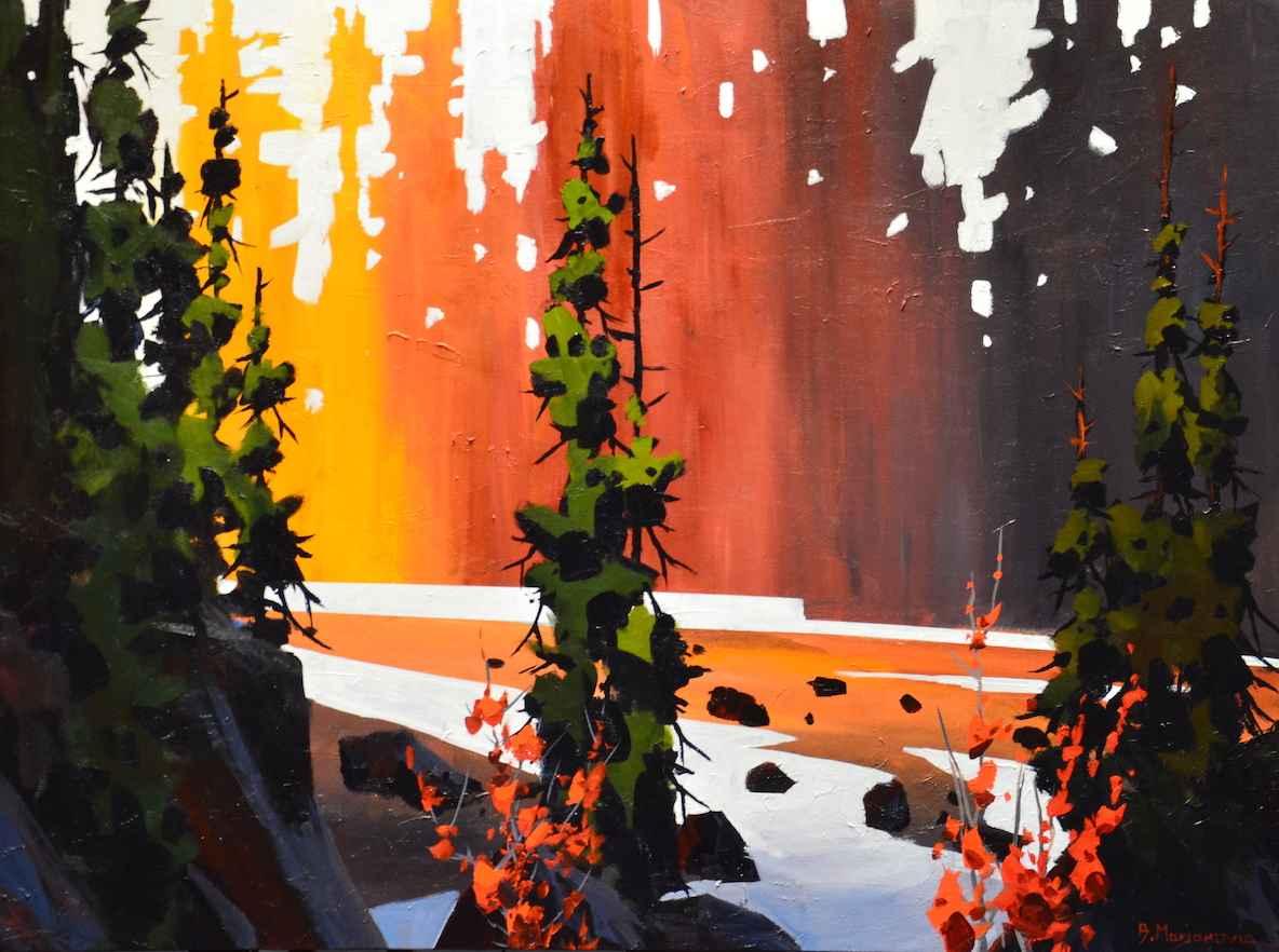 On Long Beach Trail by  Branko Marjanovic - Masterpiece Online