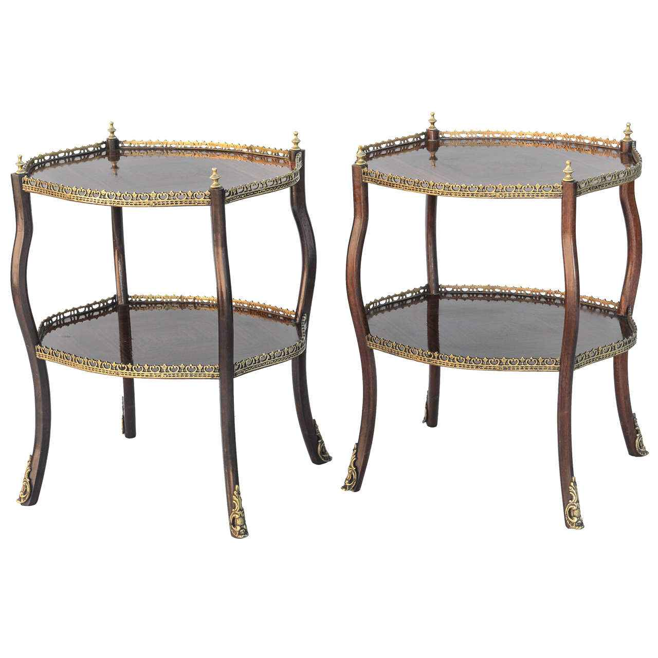 Pair of Rosewood Tabl... by   English - Masterpiece Online