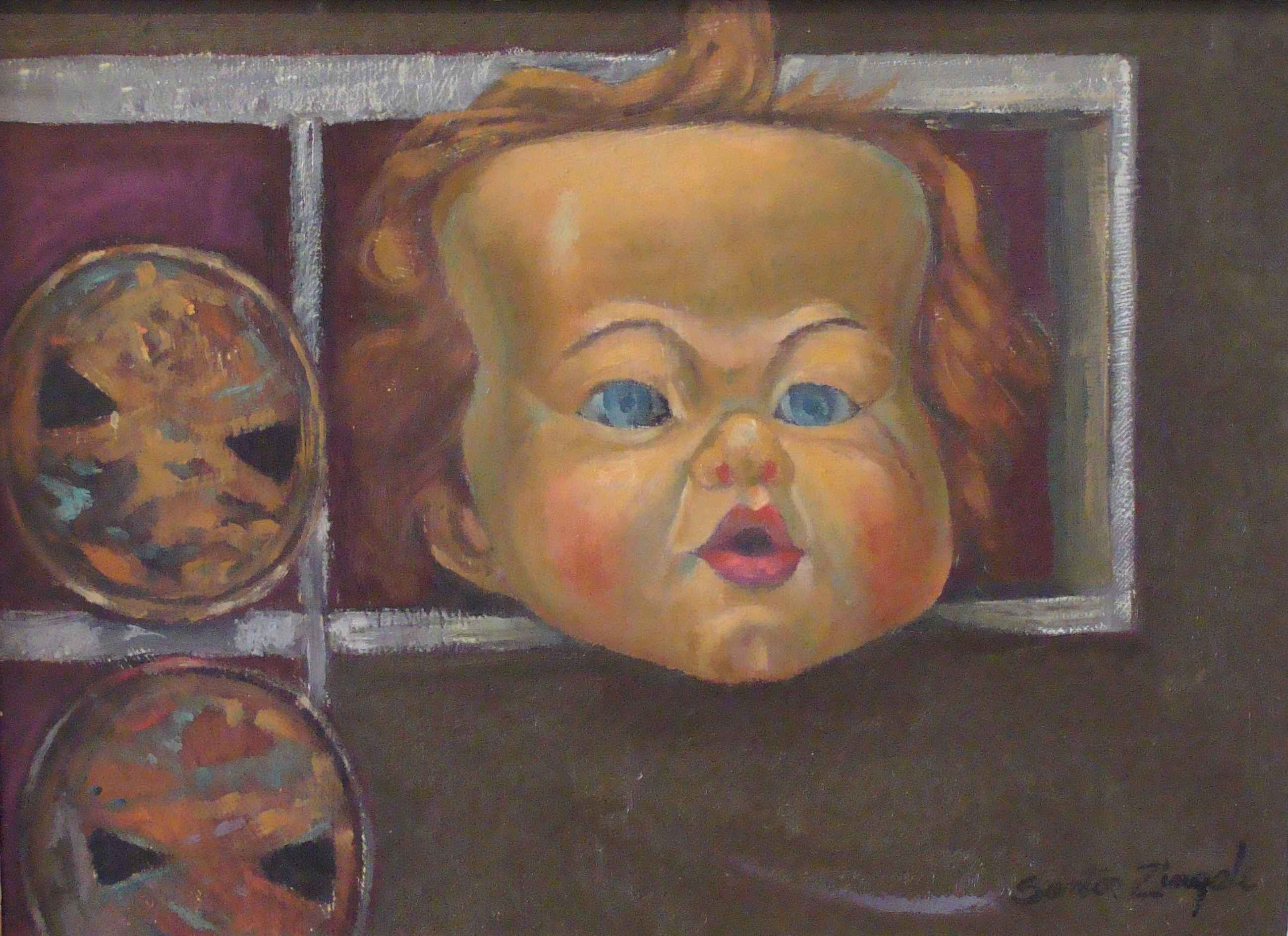 Doll's Head with Cans by Mr. Santos Zingale - Masterpiece Online