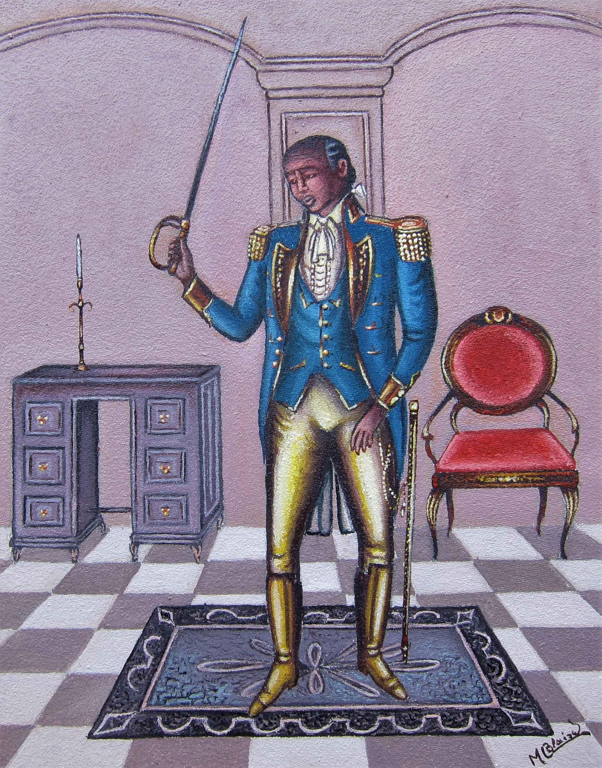 Louverture by  Serge Moleon BLAISE - Masterpiece Online