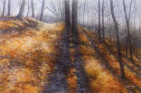 Sunny Path November by  Michael Wheeler - Masterpiece Online