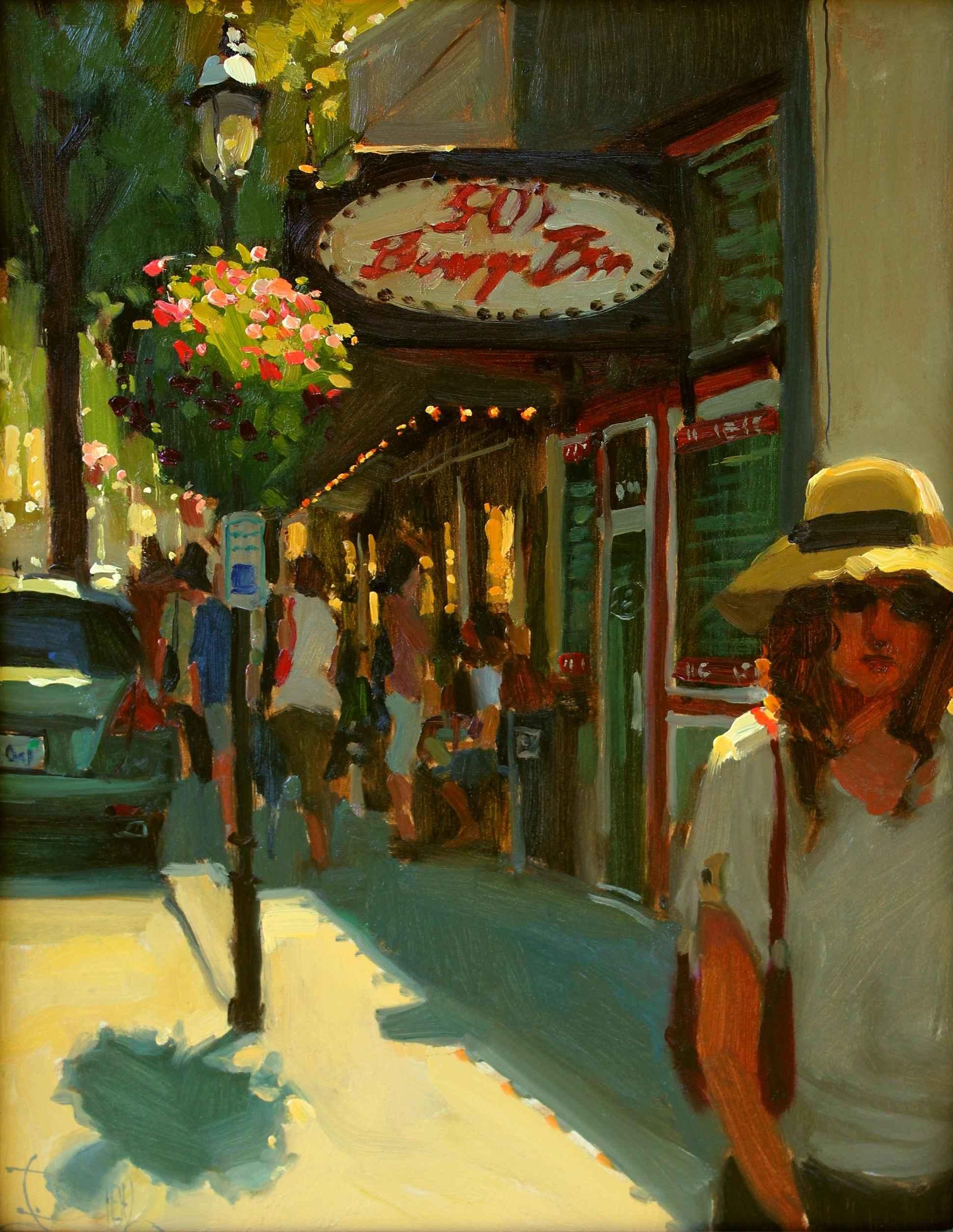 Bustling by  Jennifer Diehl - Masterpiece Online