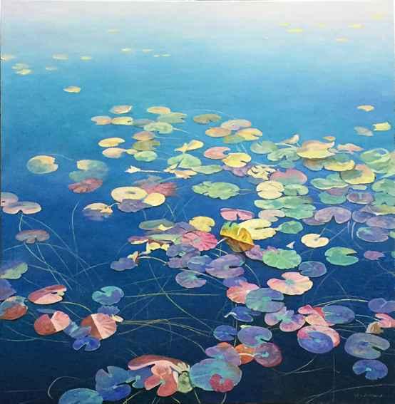 Lily Pads by  Jack Zhou - Masterpiece Online