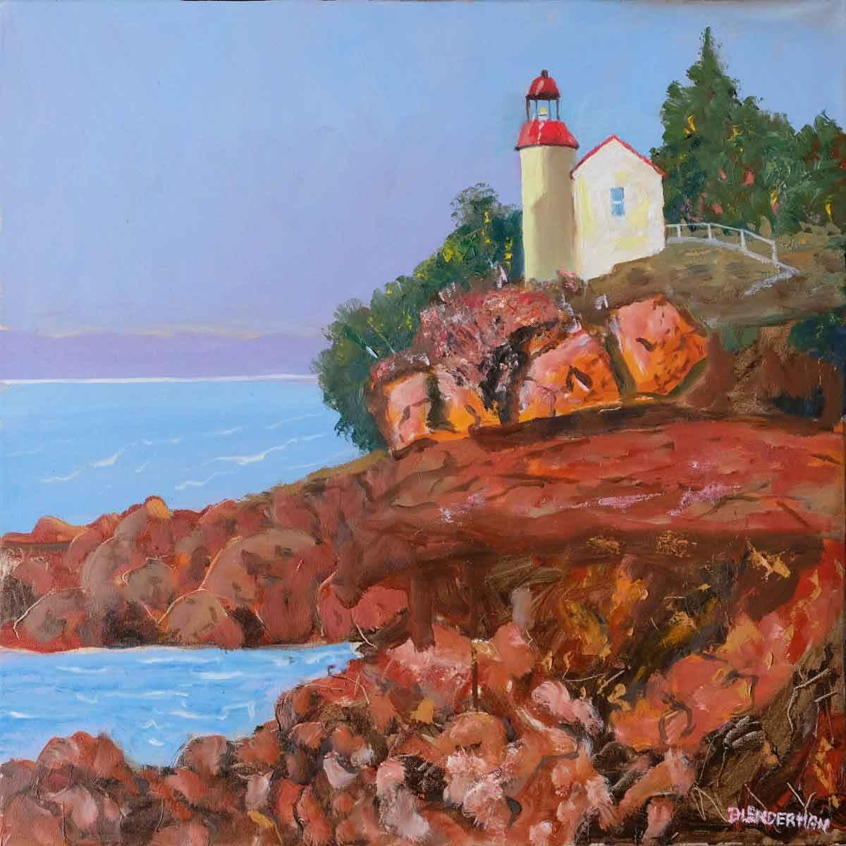 East Coast represented by  by  Robert Blenderman