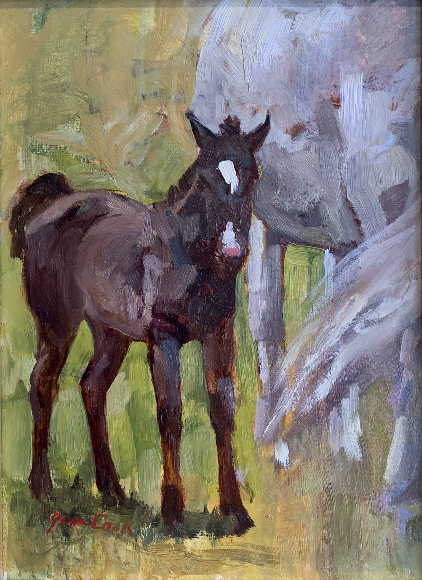 Angie's 1st Born by  Jean Cook - Masterpiece Online
