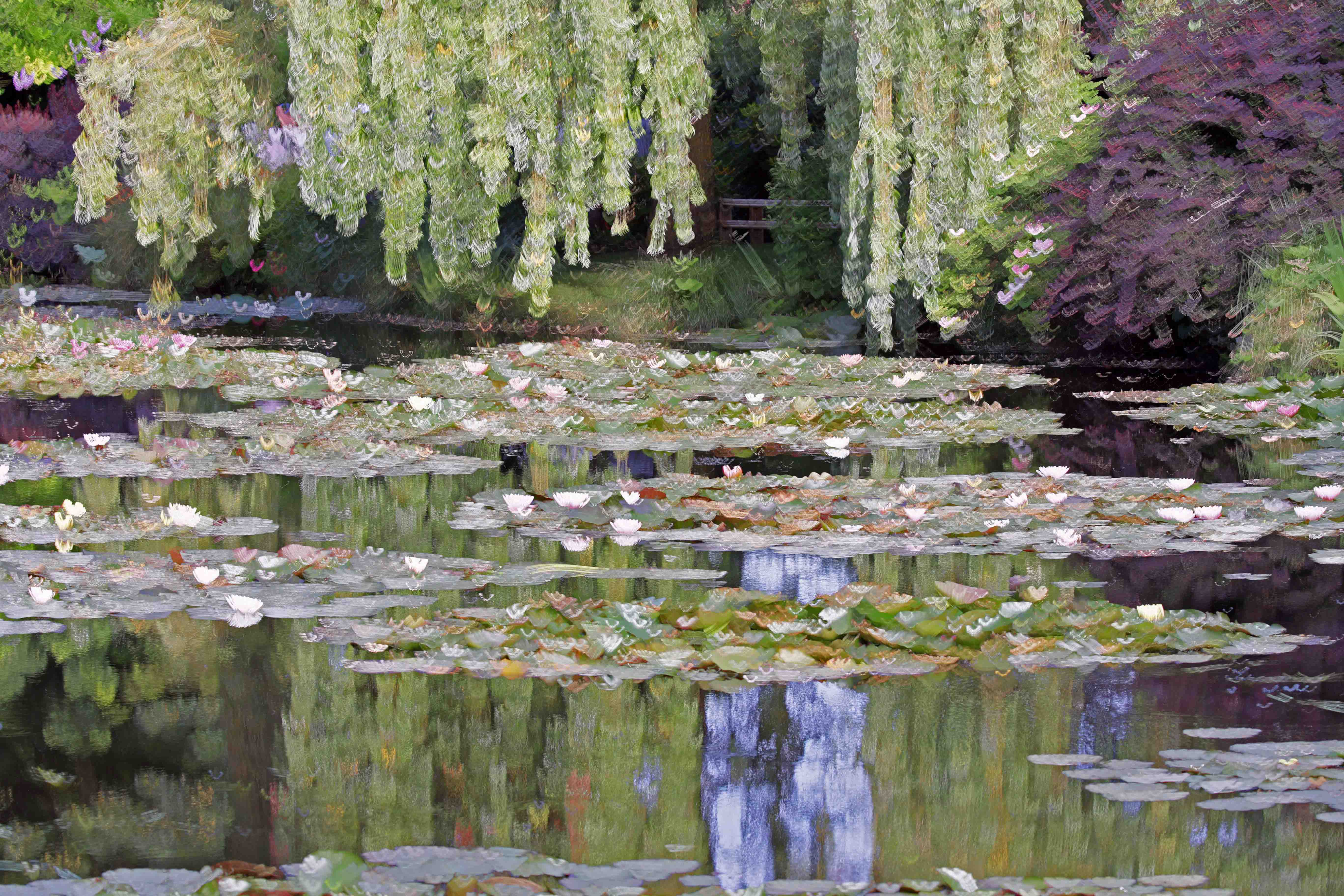 The Pond at Giverny by  Mark Weller - Masterpiece Online