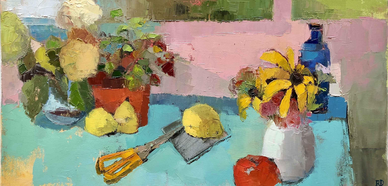 Z Summer Flowers by  Rossana Dewey - Masterpiece Online