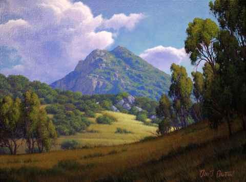 Cuesta Valley by  David  Dalton  - Masterpiece Online