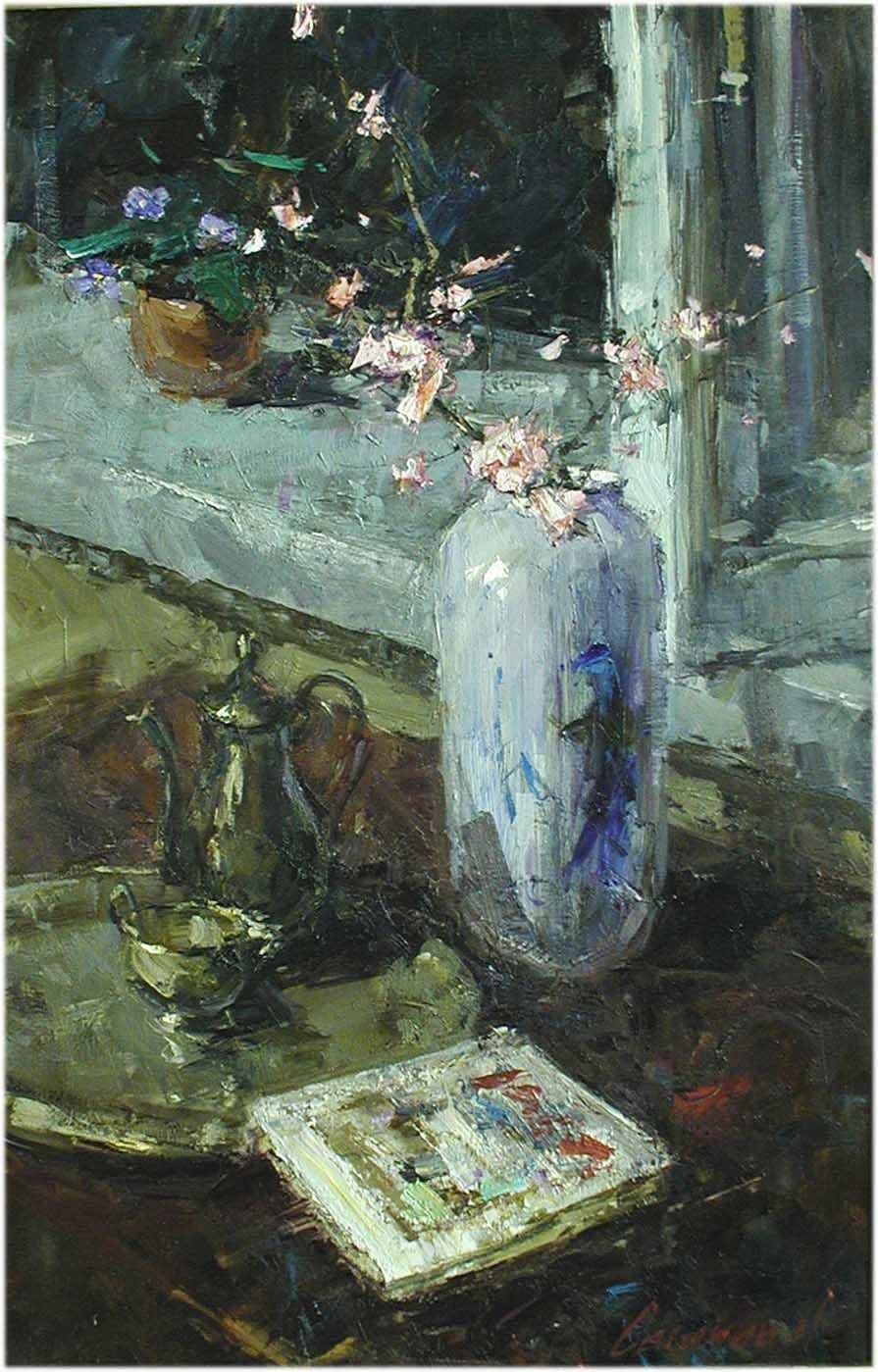 Evening Almond by  Andrey Selenin  - Masterpiece Online