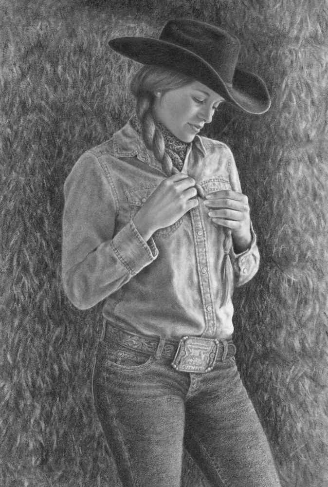 A Penny For Her Thoug... by  Cindy Long - Masterpiece Online
