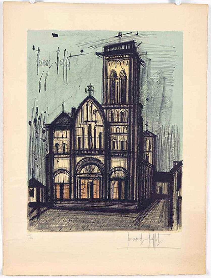 Vezelay, Basilique a ... by  Bernard Buffet - Masterpiece Online